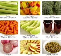 нормы калорий