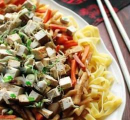 лапша с тофу