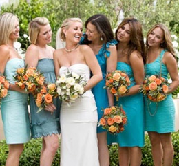 платье для подружек невесты